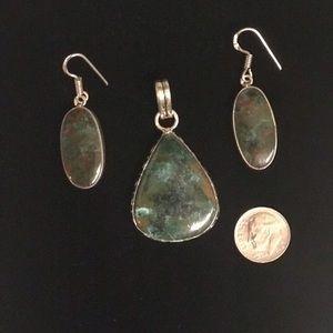 Jewelry - Azurite Set